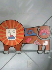 Handmade wooden lion wall hanging Hagerstown, 21740