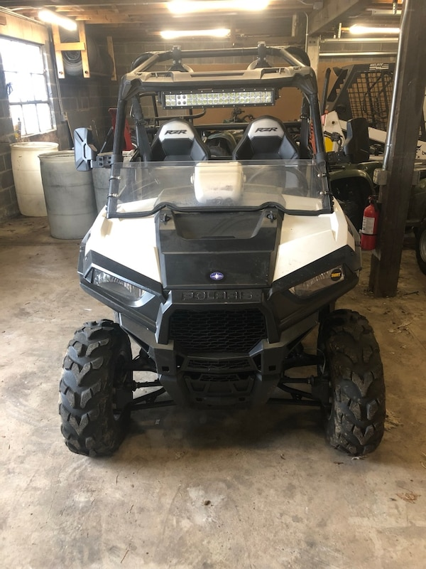 Polaris RZR 900 asking $10,200 OBO only 128 miles LED light bar aftermarket  rims Sony radio