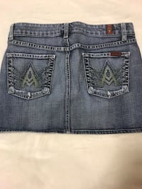 Seven jeans denim skirt with Swarovski crystal pockets  Kelowna, V1V 0A6