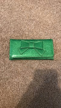 Green Sparkle Wallet