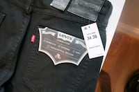 Levis 511 commuter 34x36 new w/ tags 45 km