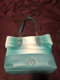 teal leather Michael Kors tote bag Washington, 20024