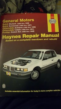 Haynes Repair Manual General Motors Brampton