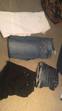 Jean shorts and jeans Belleville