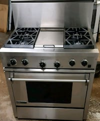 gray and black gas range oven Montréal, H1G 2N7