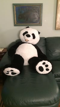 white and black panda plush toy Gaithersburg