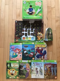 Tag leap frog reading system  Edmonton