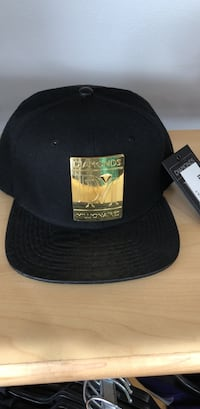 black and gold Diamonds snapback Abbotsford, V2S 0A5