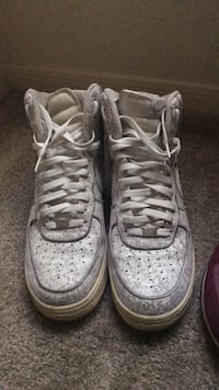 a07a10a4c5 Used Pair of white nike air force 1 high Sz 12 for sale in Memphis - letgo
