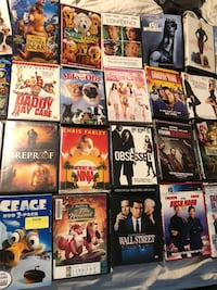 40+ DVDs selling together  Fort Myers, 33966