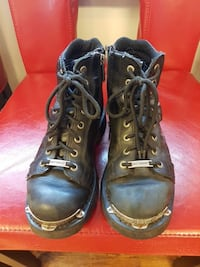 Harley riding boots size 6  Rothesay, E2E 2N6