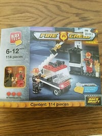 Lego!!! Fire Crew 114 pieces Lancaster, 93536