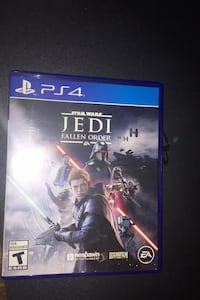 Star Wars JEDI: Fallen Order for PS4      basically brand new 35$ obo
