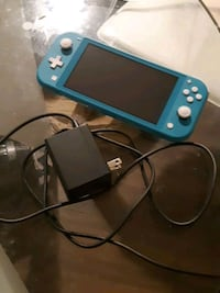 Nintendo switch lite with charger