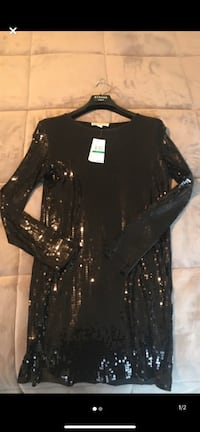 Michael kors black sequin dress  Oakville, L6L 6T4