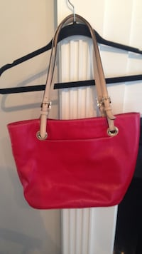 Bright Red Genuine Michael Kors Purse Brookhaven, 30319