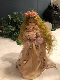 Porcelain Angel Doll on stand   Port Saint Lucie, 34952