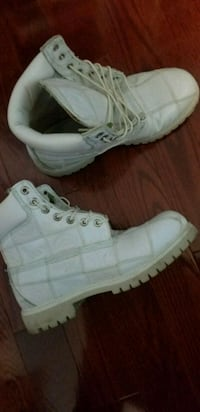 Exclusive all white Timberland boots Brampton, L6T