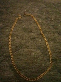 gold chain link necklace with pendant Los Angeles, 90026