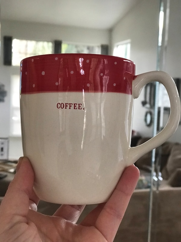 00eedeb73ba Used Rae Dunn artisan collection by Magenta coffee mug for sale in  Bakersfield - letgo