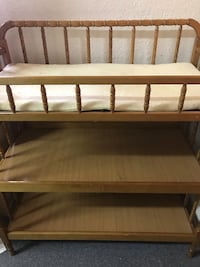 Diaper table changing table