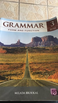Grammar form and function educational textbook