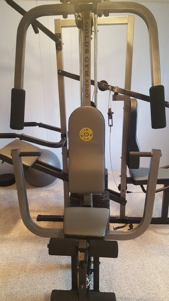 Used golds gym xr home gym for sale in springfield letgo