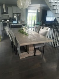 Dining Room Table Set Like New Lincoln Park, 07035