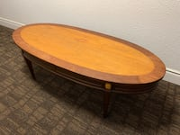 """Coffee Table - Solid Wood 50"""" by 22"""" Toronto, M5V 3A7"""