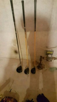 two black and gray fishing rods London, N6G 2Y8