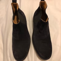 pair of black suede boots San Francisco, 94134