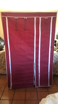 Red and white wooden wardrobe Rowland Heights, 91748