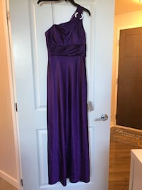 Women's formal purple dress Bethesda