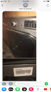 Black and gray front-load clothes washer 300 obo  Las Vegas, 89131