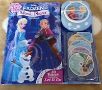 Disney frozen elsa and Anna musical book Mission Viejo, 92692