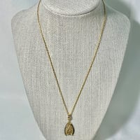 Vintage 10k Gold South African Pendant & 14k Vermeil Chain Ashburn, 20147