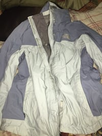 Blue and gray zip-up jacket, north face. size large Biloxi, 39532