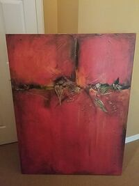 red and black wooden board