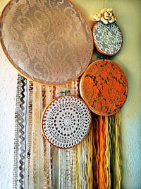 Lace, doily and fringe wall decoration  Tampa, 33617