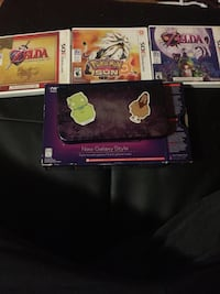 Galaxy style Nintendo 3DS XL&games