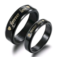 Couples rings size 11 and 7 only * Hamilton, L8E 1J7