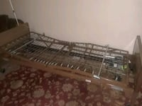 brown and black wooden hospital bed frame  East Saint Louis, 62207