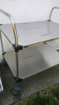 Stainless steel cart on casters Pittsburg, 94565