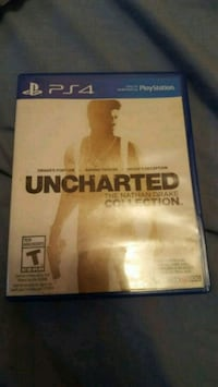 Uncharted the nathan drake collection for ps4 3 games in one Coquitlam, V3B 6E8