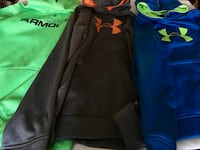 UnderArmour  hoodies   EUC  youth XL   $15 each or all 3 for $35  Orchard Hills, 21742