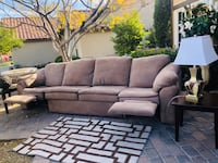 brown fabric 3-seat sofa Las Vegas, 89146