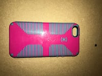 red and black Speck iPhone case Bend, 97702