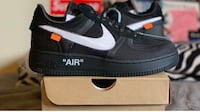 Nike off white ten Air Force ones  Silver Spring, 20910