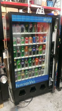 Soda vending machine  30 km