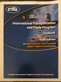 International Transportation and Trade Program Toronto, M2J 2X5